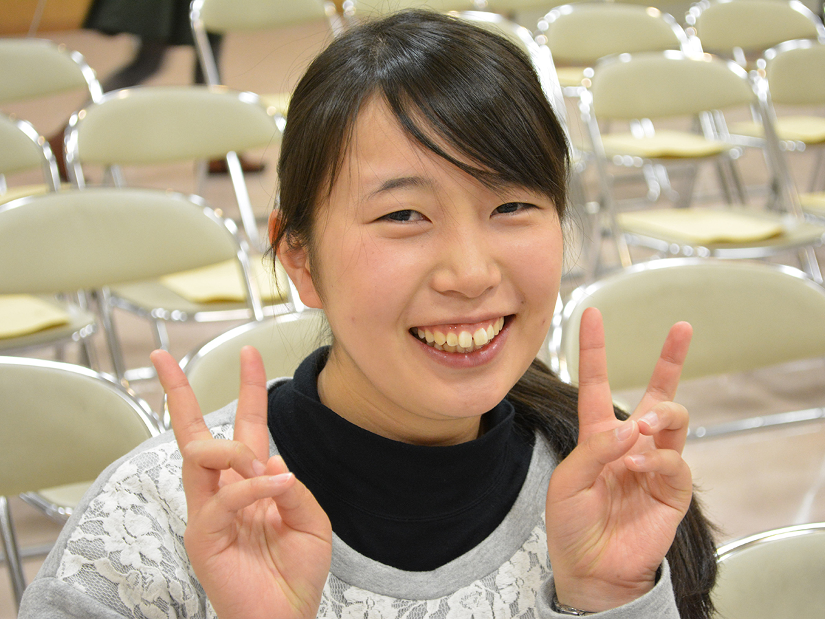 ぬま大学1期生 菊田 真由